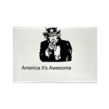 America It's Awesome Rectangle Magnet