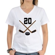 Hockey Player Number 20 Shirt