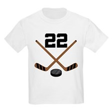 Hockey Player Number 22 T-Shirt