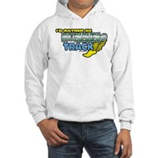 Track Rather Be Running Hoodie