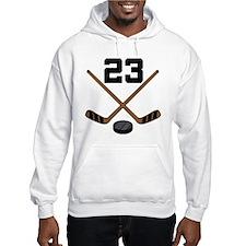 Hockey Player Number 23 Hoodie
