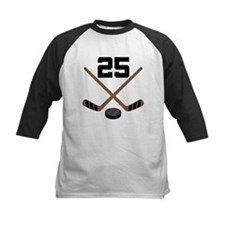 Hockey Player Number 25 Tee