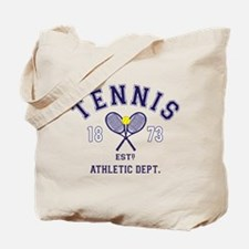 Tennis Est 1873 Tote Bag