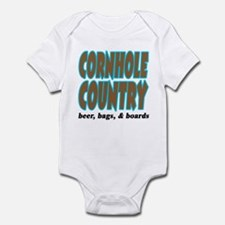 Cornhole Country Infant Bodysuit