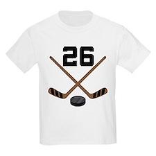 Hockey Player Number 26 T-Shirt