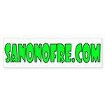 San Onofre Great Bumper Sticker