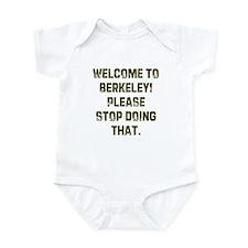 Welcome to Berkeley! Please s Infant Bodysuit