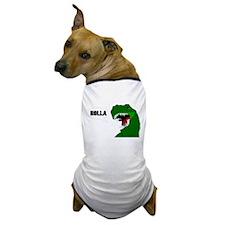 Funny T-rex dinosaur Holla design Dog T-Shirt