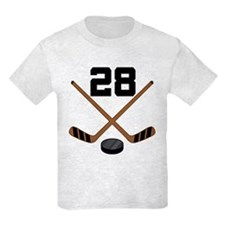 Hockey Player Number 28 T-Shirt