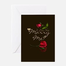 Marry Me Greeting Card Chic And Stylish