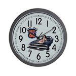 Route 66 Charger Wall Clock