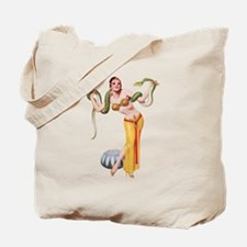 Pin-Up Girl Tote Bag