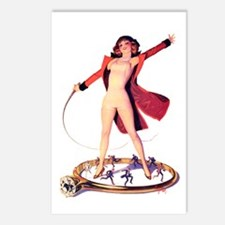 Pin-Up Girl Postcards (Package of 8)