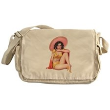 Pin-Up Girl Messenger Bag