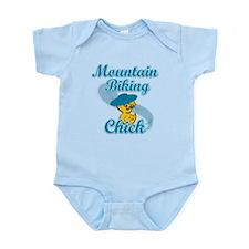 Mountain Biking Chick #3 Infant Bodysuit