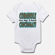 Cornhole Cincinnati Infant Bodysuit