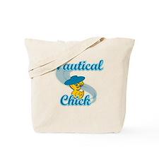 Nautical Chick #3 Tote Bag