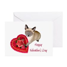 Kitten Valentine Greeting Cards (Pk of 10)
