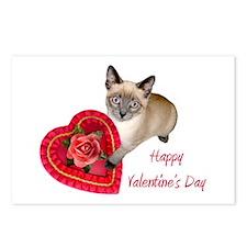 Kitten Valentine Postcards (Package of 8)