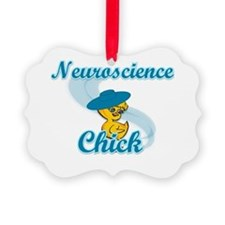 Neuroscience Chick #3 Ornament