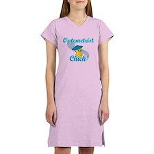 Optometrist Chick #3 Women's Nightshirt