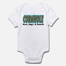 Cornhole Infant Bodysuit