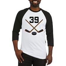 Hockey Player Number 39 Baseball Jersey