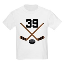 Hockey Player Number 39 T-Shirt