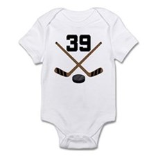 Hockey Player Number 39 Infant Bodysuit
