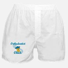 Orthodontist Chick #3 Boxer Shorts