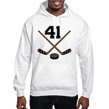 Hockey Player Number 41 Hoodie