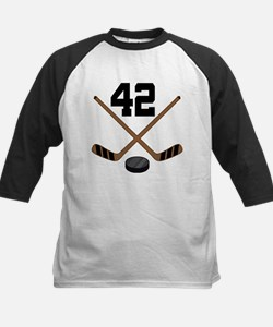 Hockey Player Number 42 Tee