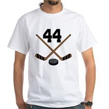 Hockey Player Number 44 Shirt