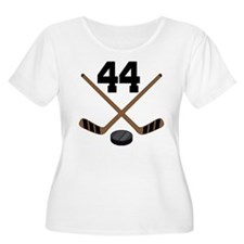 Hockey Player Number 44 T-Shirt