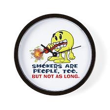 Smokers Wall Clock