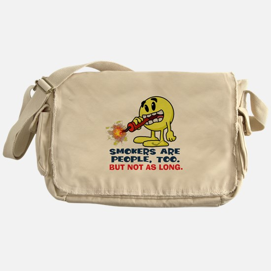 Smokers Messenger Bag