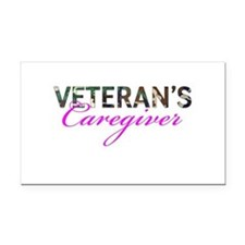BDU Army Vet Caregiver Rectangle Car Magnet