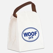 WOOF Ya'll Canvas Lunch Bag