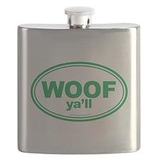 WOOF Ya'll Flask