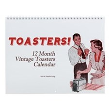 Toasters Wall Calendar