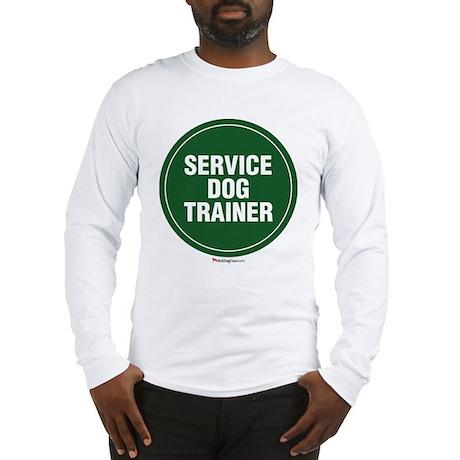 SERVICEdogtrainer.jpg Long Sleeve T-Shirt