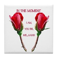 In the Moment Valentine Tile Coaster