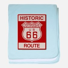Victorville Route 66 baby blanket