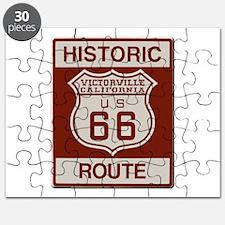 Victorville Route 66 Puzzle