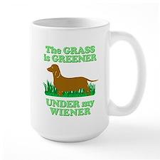 Grass Is Greener Under My Wiener! Mug