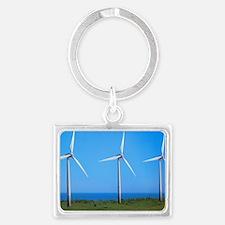 Wind farm - Landscape Keychain