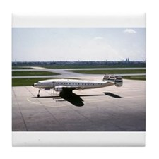 Historic Airplanes Tile Coaster