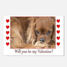 Will You Be My Valentine? Postcards (Pack
