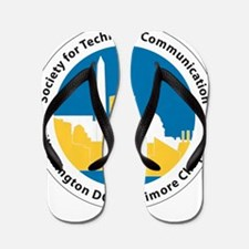 STC WDCB chapter logo Flip Flops