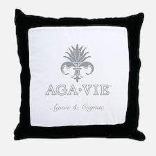 AGA•VIE Logo Throw Pillow